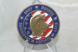 Army Marines Navy Air Force Coast Guard Vfw Post 8879 Challenge Coin