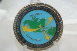 Navy Operational Support Center New Orleans Louisiana Chief Mess Challenge Coin