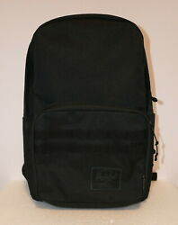 Supply X Independent Pop Quiz 22l Black Canvas Backpack New W/tag