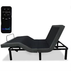 Fast Furnishings Queen Size Adjustable Bed Frame Base With Wireless Remote