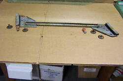 1972 And Other Dodge Charger Lh Door Glass Guide Track Stops And Bolts Used Oem