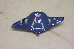 1969 1970 And Other Mustang Temperature Black Faced Gauge Non-tach Oem Tested