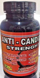 Anti Candida Strenght Infección Vaginal Yeast Infection 60 Capsulas Natural