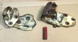 1968 And Other Ford Fairlane 500 Conv 2 Door Lh Upper And Lower Door Hinges W/spring