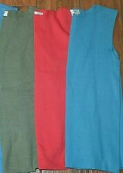 Womens Coldwater Creek Sweater Knit Shell Square Neck Size Small Color Choice