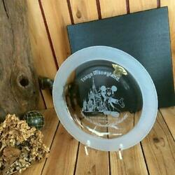 Tokyo Disney Land 1983 Open Commemoration Glass Plate Very Rare Not For Sale Ems