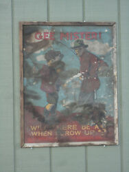 Vintage Maine Dept Of Inland Fisheries And Game Gee Mister Fishing Poster Rare