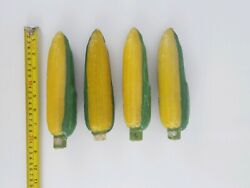 4 Ears Of Corn Candles Lightly Scented, Americana, Farm, Agriculture