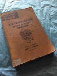 Caterpillar Cat D379 And G379 Engines Parts Catalog Manual S/n 68b1-674 Book Guide
