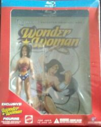 Wonder Woman Rare 2009 Animated Feature Bestbuy Exclusive Figurine Release