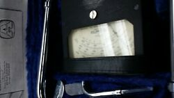 Vintage Alnor Type 3002 Velometer W/ Case And Accessories