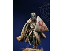 Templar Knight Tin Painted Toy Soldier Miniature Pre-sale   Museum Quality