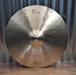 Dream Cymbals Bcrri22 Bliss Hand Forged And Hammered 22 Crash Ride Demo