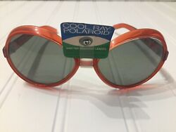 NEW Vintage COOL RAY Polaroid Sunglasses 152 RARE Movie Prop 70s 60s Authentic $39.99