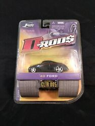 Jada Toys '40 Ford D-rods 12039-005 New In Package 2005 Black 8+ 164