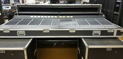 Yamaha M3000a Mixing Console W/ Case Power Supply And Redudant Power Supply