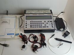 Hathaway Promac Mastercal Dht 920 Portable Master Calibrator Test Leads Dht920