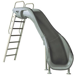 S.r. Smith 610-209-58120 Rogue2 Slide Right Curve Gray 8and039 Ft For Swimming Pools
