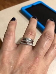 Wedding Ring 3 Sets For Women Size 7. Dimonds From Kay. Insurance For Live.andnbsp