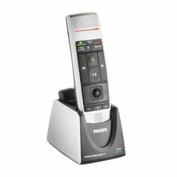 Philips Lfh-3000 Speechmike Air Wireless Dictation Microphone With Push Button