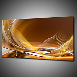Abstract Lines Modern Design Canvas Picture Print Wall Hanging Art Home Decor