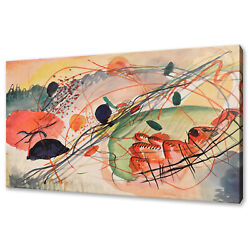Wassily Kandinsky Composition 6 Abstract Canvas Print Picture Wall Hanging Art
