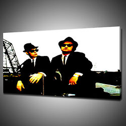 Blues Brothers Movie Canvas Picture Print Wall Hanging Art Home Decor Free Pandp