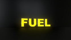 4pc Fuel Led Black Side Panels, Storefront Sign, Ready To Install