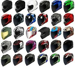 Icon Airflite Full Face Dot Motorcycle Helmet - Free Exchanges And Returns