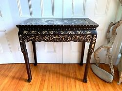 ANTIQUE Chinese Qing Dynasty Hall table~Rosewood