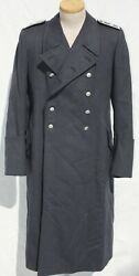 German Wwii Original Luftwaffe Nco Greatcoat For The Rlm, Named And Dated