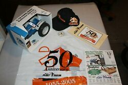 Mills Fleet Farm 50th Anniversary 1/16th Scale Ford 8000 Toy Tractor Signed By J