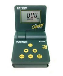 Extech Oyster 412355a Current And Voltage Calibrator/meter W/ Carry Case