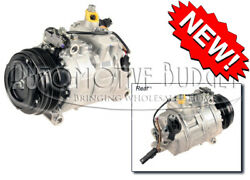 A/c Compressor W/clutch For Various Bmw 5 6 7 M And X Series Vehicles - New
