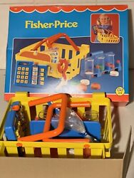 Vintage Fisher Price Shopping Set Toy Boxed Tard Mint Unopened Money Calculator