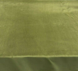 Cotton Velour Green Princess Velvet FR Fabric by the yard $15.95