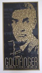 Goldfinger James Bond Oo7 Mondo Poster Sean Connery Todd Slater Limited Edition