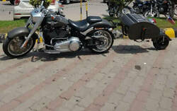 Motorcycle One Wheel Trailer With Free Shipping Item 008