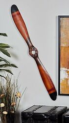 Wood Vintage Airplane Propeller Aviation Collectible Wall Decor New