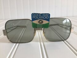 NEW Vintage COOL RAY Polaroid Sunglasses 350 RARE Movie Prop 70s 60s Authentic $49.99