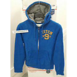 Abercrombie And Fitch Mens Elk Lake Hoodie Sweatshirts Blue Size M,xl