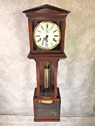 Hamilton Wall Clock 1 Weight Westminster Chimes Runs Strikes and Chimes 1982