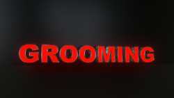 8pc Grooming Led Black Side Panels Storefront Sign Complete And Ready To Install