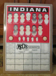 Rare 1996-97 Indiana Hoosiers Basketball Schedule Bobby Knight Shrink Wrapped