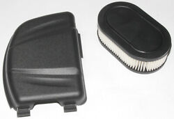 Air Filter And Filter Cover Replaces Briggs And Stratton 798452 595658