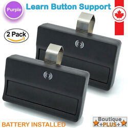 2 Pack Garage Remote Control- Raynor Liftmaster 370lm 371lm 372lm 373lm 315mhz