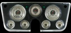 All American Nickel 1967-72 Chevy Gauges - Classic Instruments - Ct67an