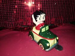 💋vintage Betty Boop Car Salt And Pepper Set Gift Collectibles 1995 Shakers 💋