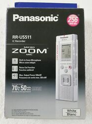 Panasonic Zoom Rr-us511 Recorder Brand New Fast Shipping And Fast Delivery