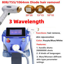 1064nm/755nm/808nm Laser Permanent Body Hair Removal Beauty Machine 4px Shipping